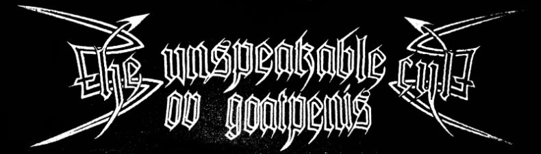 The Unspeakable Cult ov Goatpenis - Logo