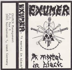 Exumer - A Mortal in Black