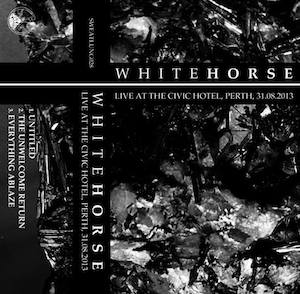 Whitehorse - Live at the Civic Hotel, Perth, 31.08.2013
