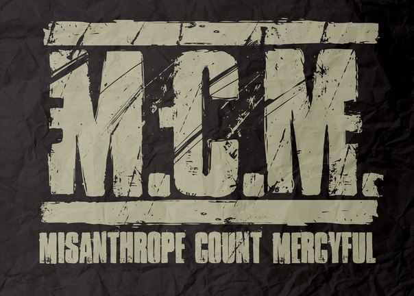 Misanthrope Count Mercyful - Logo