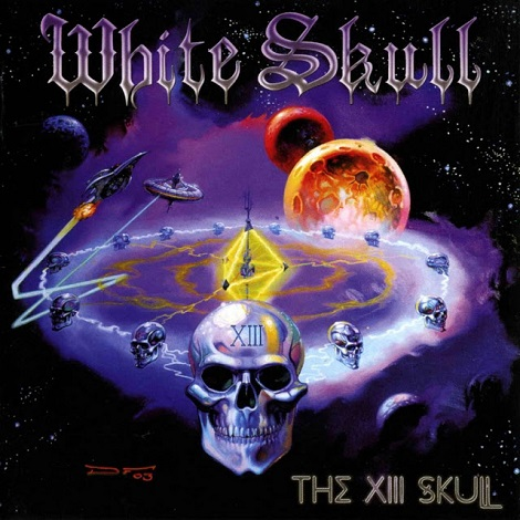 White Skull - The XIII Skull