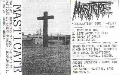 Masticate - Desecration