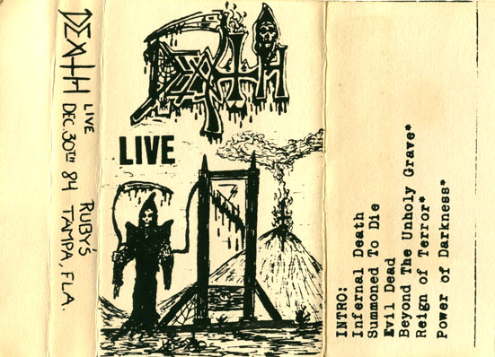 Death - Infernal Live (Live tape #5)