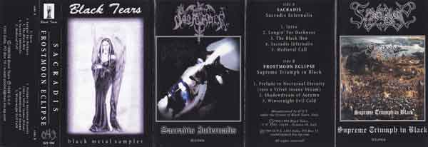 Frostmoon Eclipse / Sacradis - Black Tears Black Metal Sampler