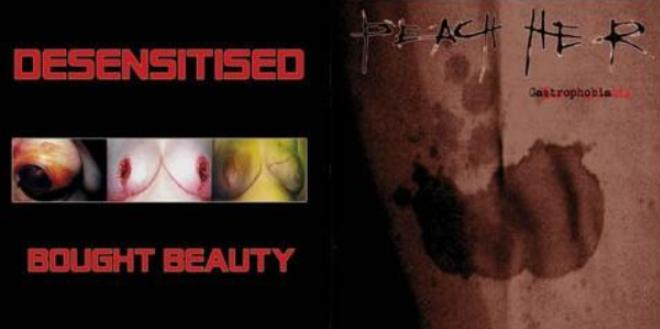 Desensitised / Peach Her - Bought Beauty / Gastrophobia