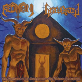 Redimoni / Graveyard - The Procession of the Gravedemons - The Ultimate Profanation