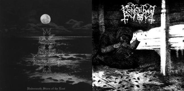 Darkened Nocturn Slaughtercult / Donkelheet - Underneath Stars of the East / Emptyness