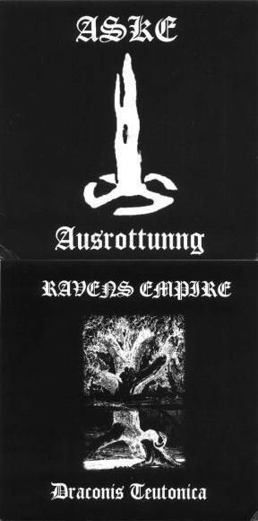Aske / Raven's Empire - Ausrottung / Draconis Teutonica