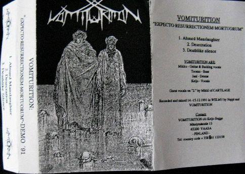 Vomiturition - Expecto Ressurectionem Mortuorum