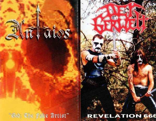 Antaios / Der Gerwelt - God; The Fake Artist / Revelation 666