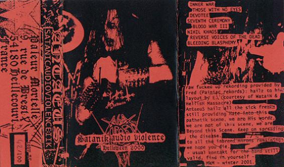 Antaeus - Satanik Audio Violence Helloween 2000