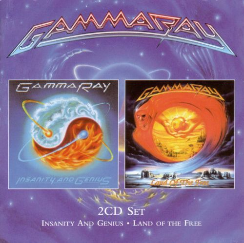 Gamma Ray - Insanity and Genius / Land of the Free