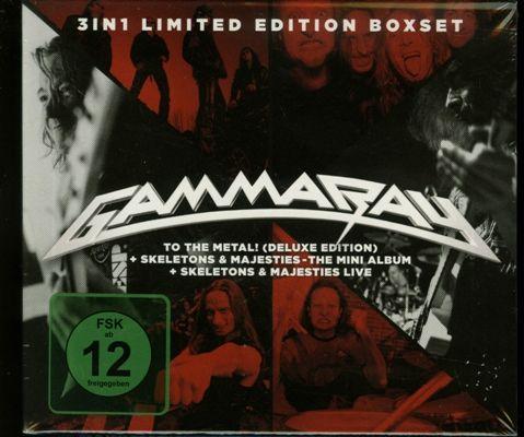 Gamma Ray - 3 in 1 Limited Edition Boxset