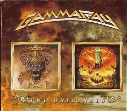 Gamma Ray - Majestic / Land of the Free II