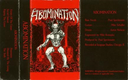 Abomination - Demo 1