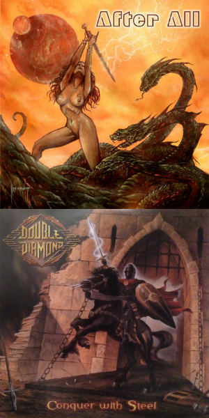 Double Diamond / After All - Armageddon Come / Conquer with Steel