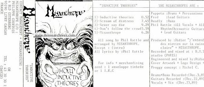 Misanthrope - Inductive Theories