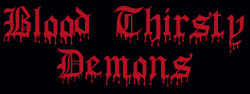 Blood Thirsty Demons - Logo