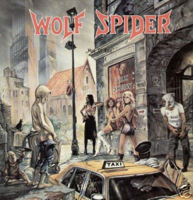 Wolf Spider - Hue of Evil