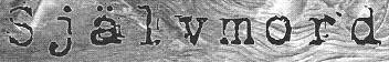 Självmord - Logo