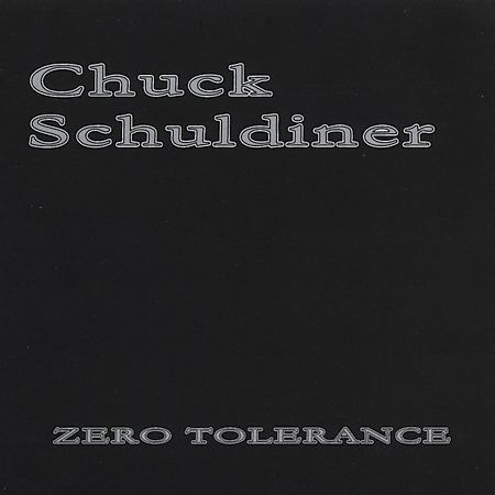 Chuck Schuldiner: Zero Tolerance cover (Click to see larger picture)