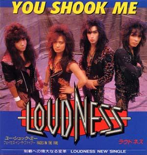 Loudness - You Shook Me