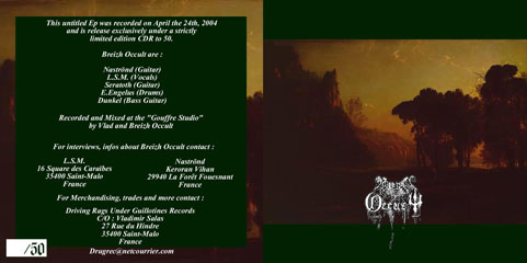 Breizh Occult - Promo 2004