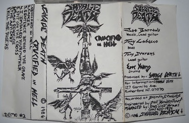 Savage Death - Crucified in Hell