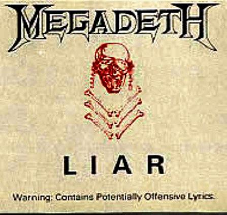 Megadeth - Liar