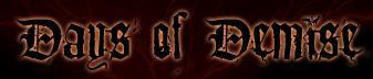 Days of Demise - Logo