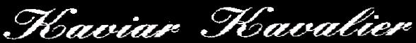 Kaviar Kavalier - Logo