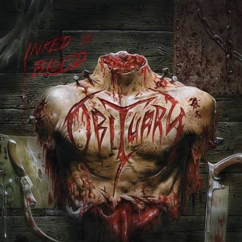 Obituary Inked in Blood artwork