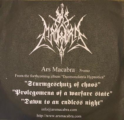 Ars Macabra - Promo