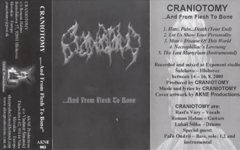 Craniotomy - ...and from Flesh to Bone