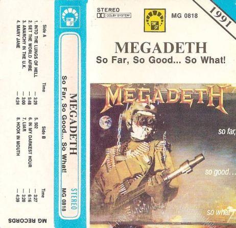 Megadeth - So Far, So Good... So What!