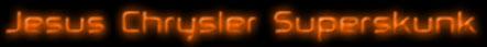 Jesus Chrysler Superskunk - Logo