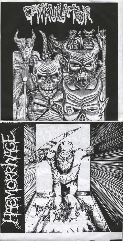 Haemorrhage / Gonkulator - Untitled / Do You Still Believe in Hell?