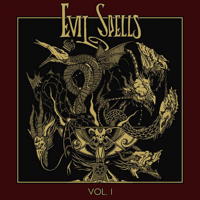 Swamp / Occult Burial / Beastiality / Spite / Throaat / Possession - Evil Spells, Volume I