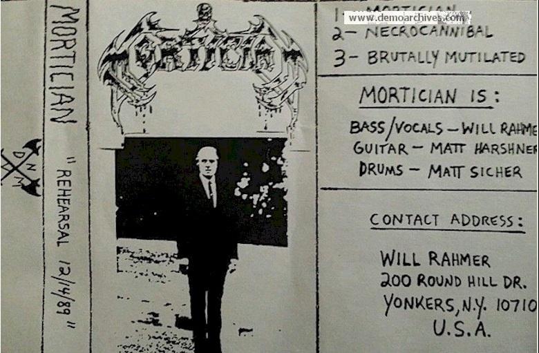 Mortician - Rehearsal 12/14/89