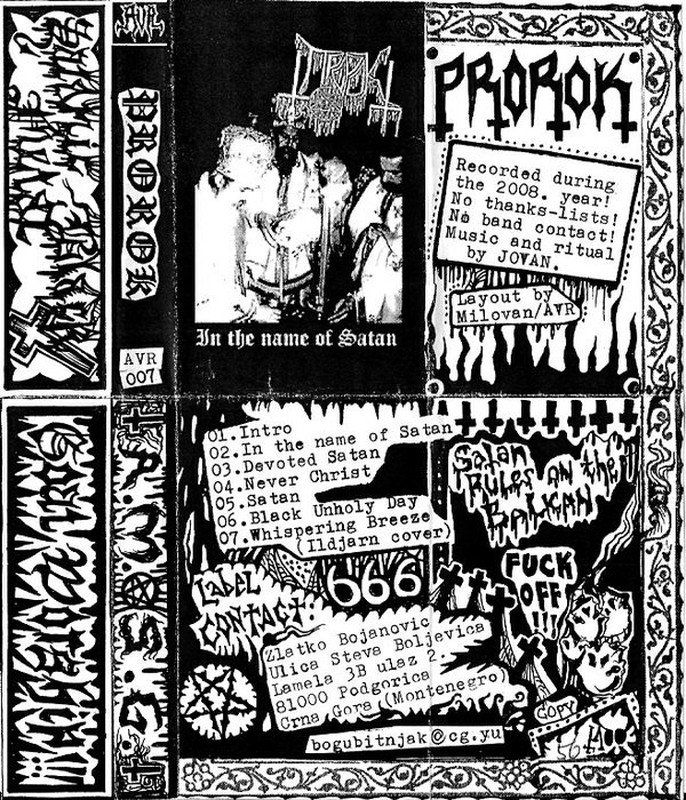 Prorok - In the Name of Satan