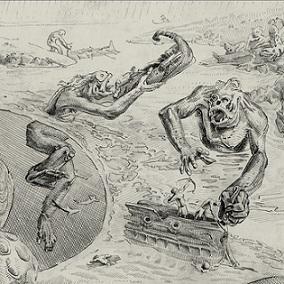 Satyros / Feared / Dead River Runs Dry - Elemental Nightmares - II