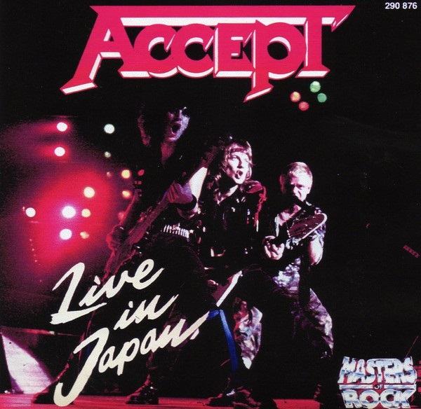 Accept - Live in Japan!