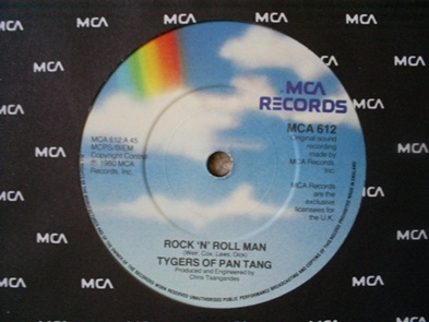 Tygers of Pan Tang - Rock 'N' Roll Man / Alright on the Night