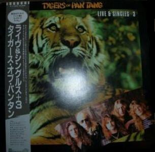 Tygers of Pan Tang - Live & Singles + 3