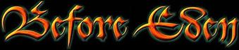 Before Eden - Logo