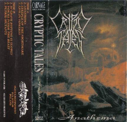 Cryptic Tales - Anathema