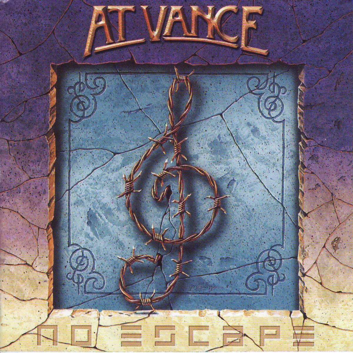 No Escape cover (Click to see larger picture)