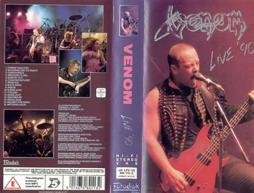 Venom - Live '90