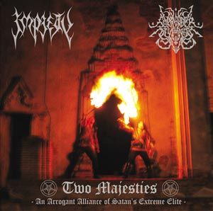 Impiety / Surrender of Divinity - Two Majesties: An Arrogant Alliance of Satan's Extreme Elite