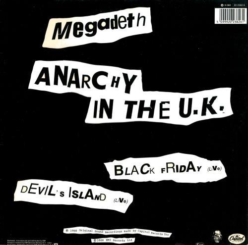 Megadeth - Anarchy in the U.K.